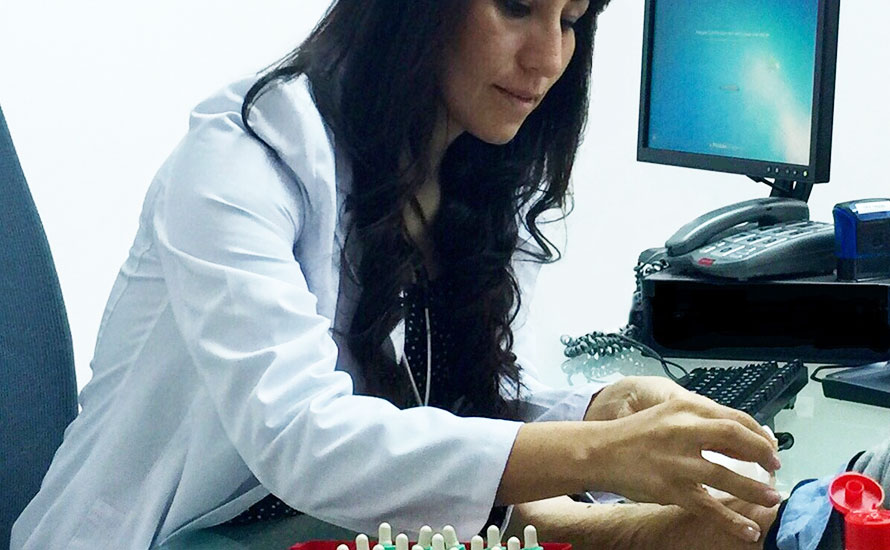 Allergists Mallorca, Doctora Sendy Chugo of Clinica Picasso 57