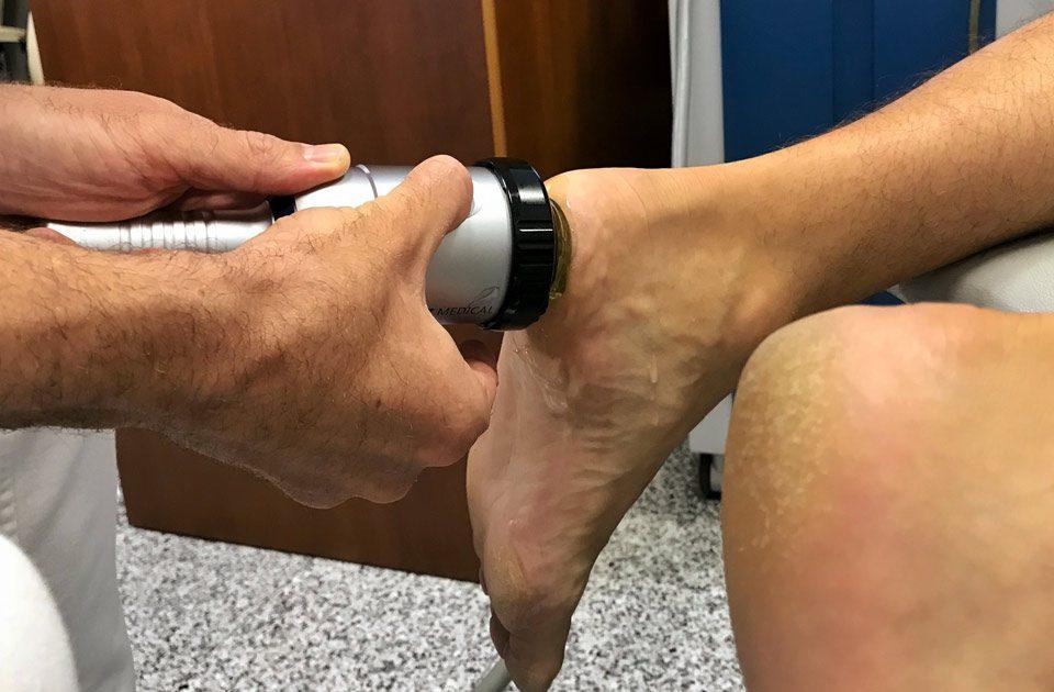 Was ist die Stoßwellentherapie