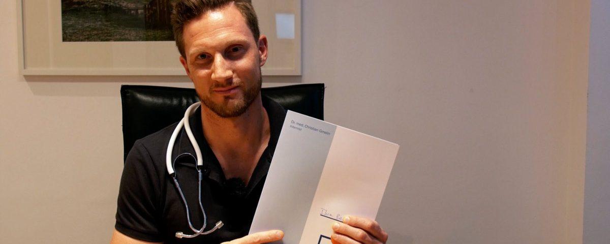 Der Arztbrief nach einer Vorsorgeuntersuchung Checkup Clinica Picasso
