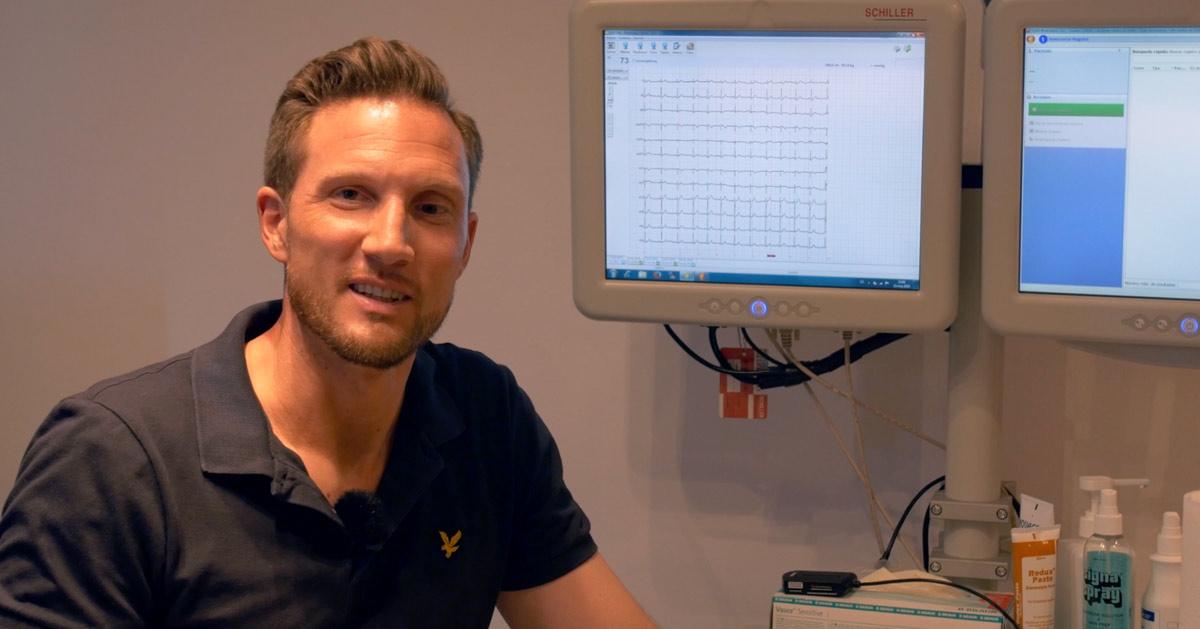 Ruhe Ekg - Checkup Vorsorge in der Clinica Picasso